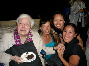 Grace Lee Boggs at her 94th birthday party