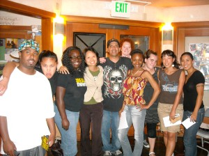 Members of First Voice, Tempo, EastSide, Media Alliance, Making Contact, (not pictured CMJ)