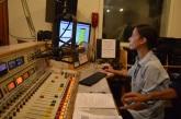 Kendall Crakow at the controls